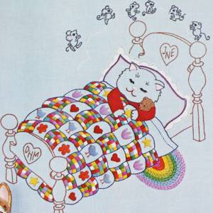 Julie Eisenhower embroidery kit# A5105 Sweet Dreams