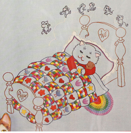 Sweet Dreams Paragon Embroidery Kit
