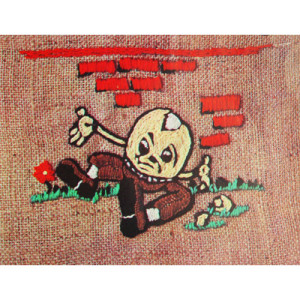 Humpty Dumpty So What Crewel Embroidery Kit