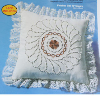Embroidery Pillow Candlewicking Kit #8264 Pinwheel by Paragon