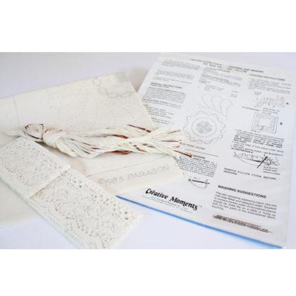 Embroidery Pillow Candlewicking Kit #8264 Pinwheel by Paragon