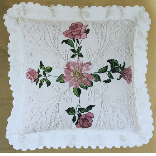 Whitework Embroidery Kit Vintage Patterns