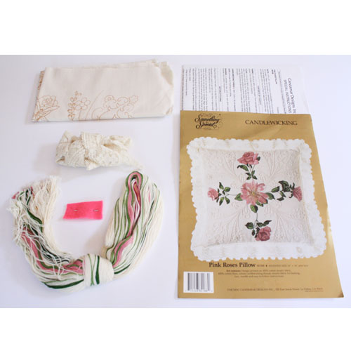 Home / Vintage Embroidery Kits / Candlewicking Kits / Candamar Designs ...