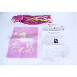Unicorn Needlepoint Kit Purple Rain