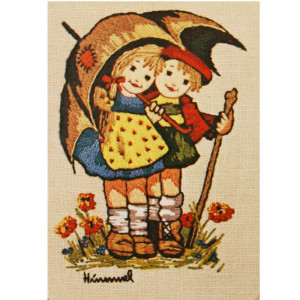 Paragon Hummel Crewel Kit Umbrella Children #0364