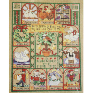 Dimensions Christmas Cross Stitch 12 Days of Christmas