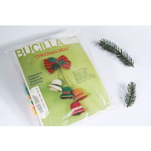 Christmas Crochet Kit Bucilla Christmas Bells #7881