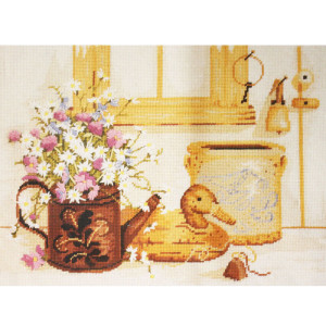 Needle Treasures Needlepoint Kit #06567 Decoy Still Life