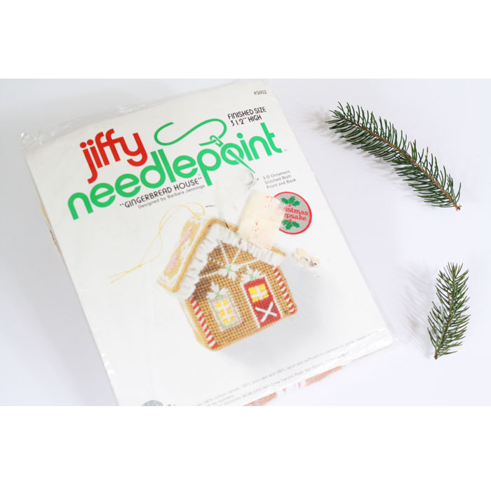 Description. Needlepoint Christmas Ornament Kit