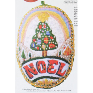 Hallmark Christmas Ornament Kit #7257 Noel