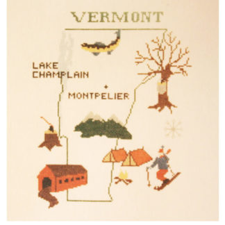Vermont Cross Stitch Pattern
