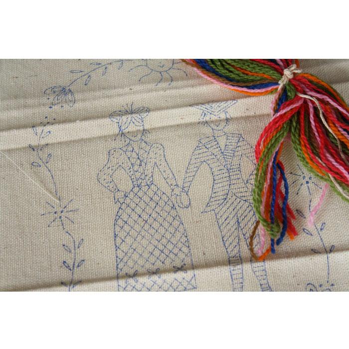 Wedding hand embroidery kit for sale orangedogcrafts