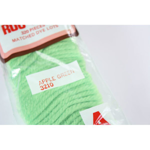 Latch Hook Rug Yarn Apple Green #3210