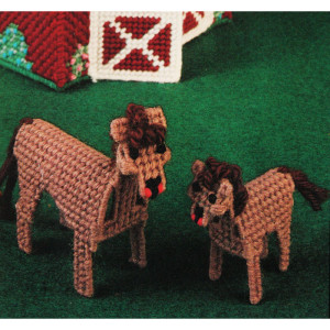 Plastic Canvas Horse Needlepoint Kit #4343 Bucilla