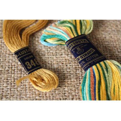 Virginia Embroidery Kit Magazine & Guard House of Colonial Williamsburg Virginia