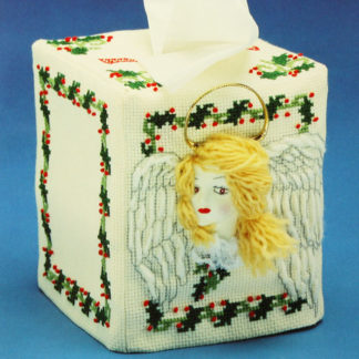 Tissue Box Cover Pattern Kit #95-4017-00 Bless You, 1991