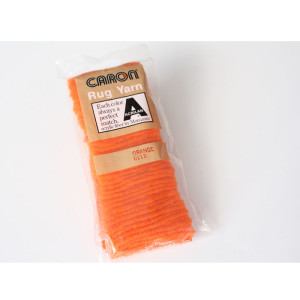 Orange Latch Hook Rug Yarn #0113
