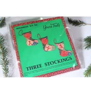 Ornament Kit #OK11 Three Stockings