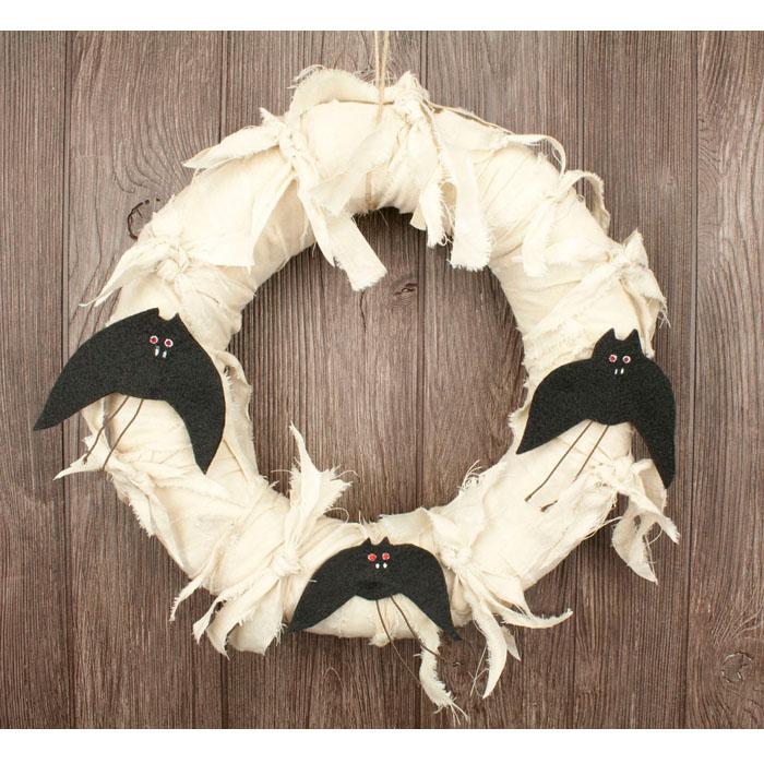 Bats Halloween Wreath