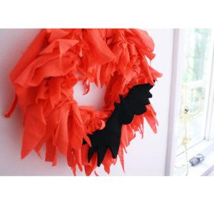 Custom Halloween Rag Wreaths
