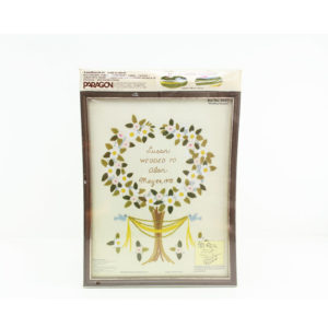 Paragon Wedding Embroidery Kit Sampler