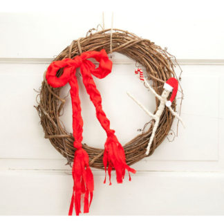 Dancing Mummy Christma Wreath