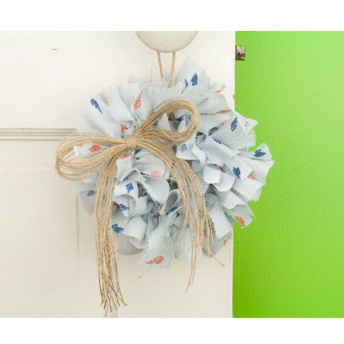 Seashell Mini Rag Wreath Limited Edition Wreaths