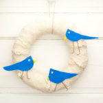 "12"" Bluebird Wreath"